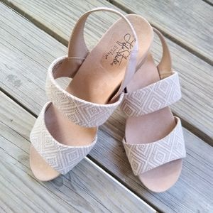 NWOT LifeStride Wedge Sandals